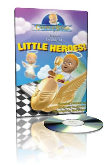 little heroes - cherub wings